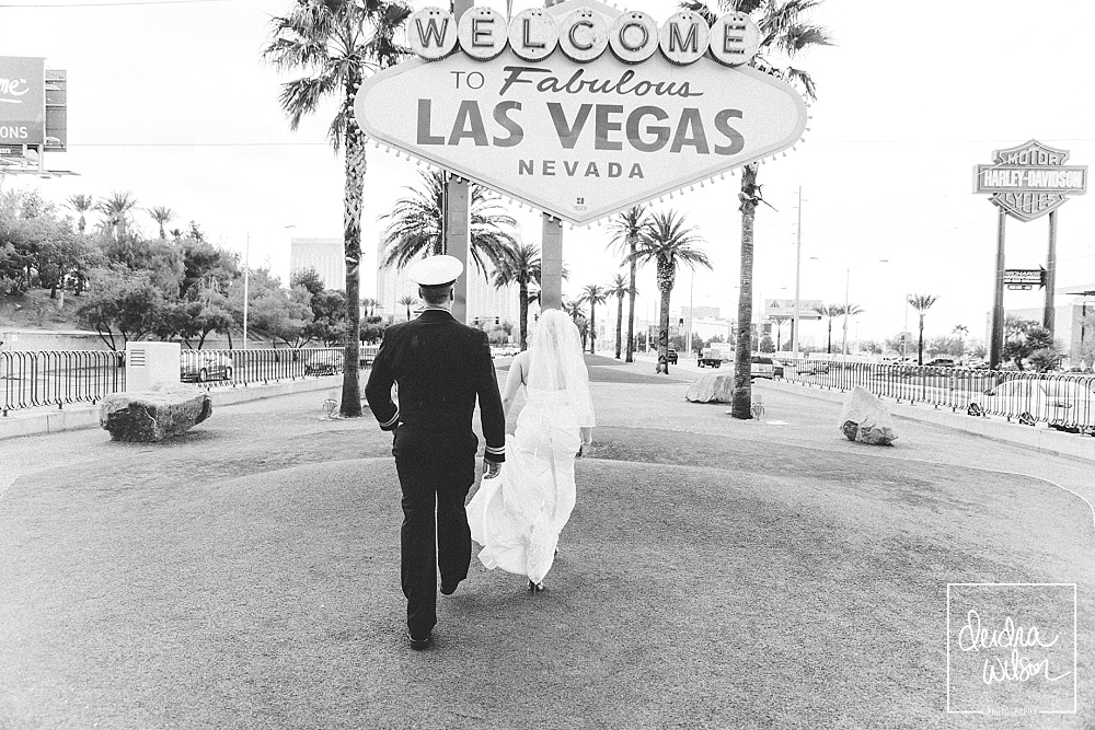 Las Vegas Wedding - Military Wedding