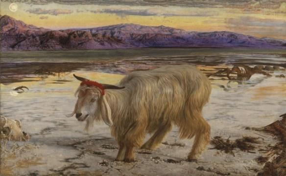 The ScapegoatbyWilliam Holman Hunt(1827-1910)