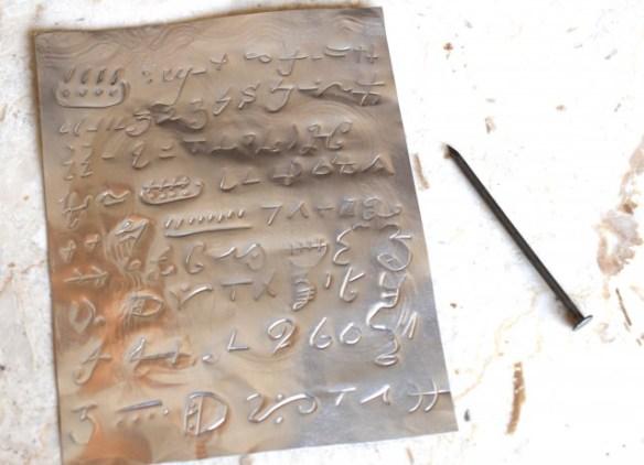 aluminum pan gold plates project