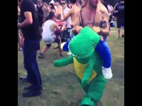 Der Shufflesaurus in Action