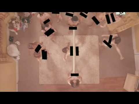 Schwarzer Zensur Balken Musikvideo