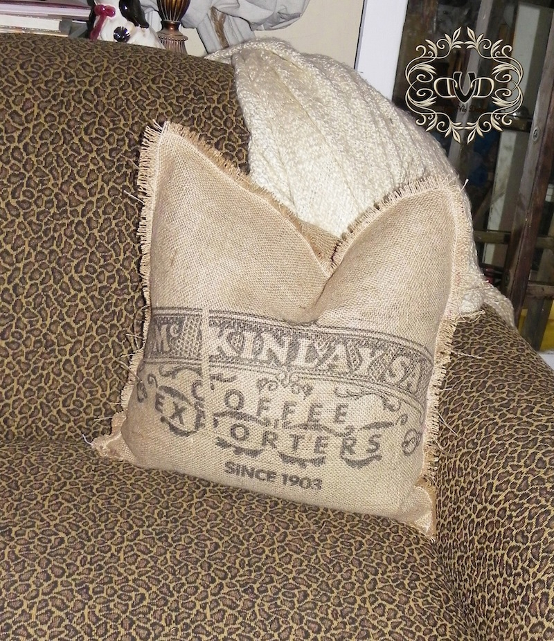 Goodwill Upcycled Pillow