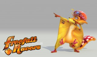Los personajes de Freefall Racers