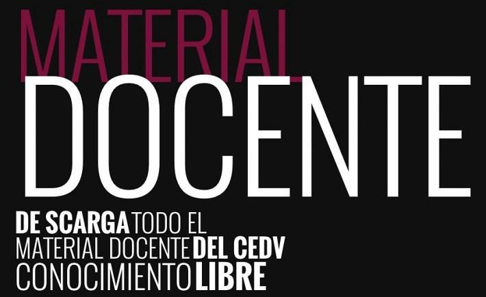 Material Docente CEDV