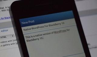 Wordpress publica la beta de su aplicación nativa para BlackBerry 10