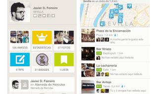Foursquare renueva su interfaz adaptándola a iOS 7