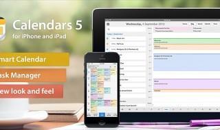 Calendars se actualiza a la versión 5 totalmente adaptada a iOS 7