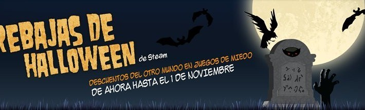 Rebajas Hallowen Steam
