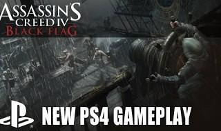 El combate Naval y el Jackdaw en un nuevo gameplay de Assassin's Creed IV: Black Flag para PS4