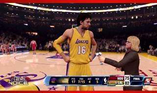 Real Voice en NBA 2K14 para PS4 y Xbox One