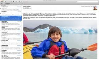 Mail se actualiza en OS X Mavericks para solucionar problemas con Gmail
