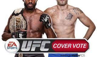 Alexander Gustafsson y Jon 'Bone' Jones, portada de EA Sports UFC