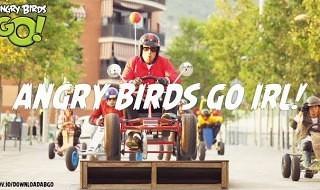Angry Birds GO! en la vida real