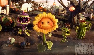 Gameplay de Plants vs Zombies: Garden Warfare