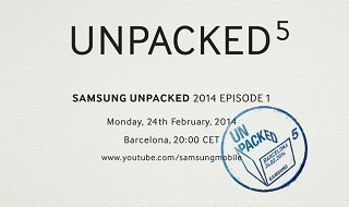 Samsung anuncia evento para el 24 de febrero, Galaxy S5 en camino