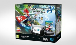 Anunciado un pack de Wii U + Mario Kart 8