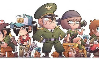 Mercenary Kings llegará a PS Vita