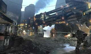 Un vistazo a Excavación, uno de los mapas de Titanfall: Frontier's Edge