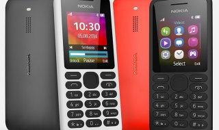 Nokia 130, nuevo móvil de 19€con reproductor de música y vídeo
