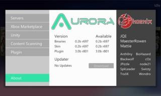 Aurora 0.2b para Xbox 360