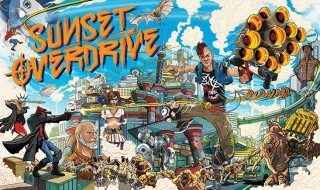 15 minutos de gameplay de Sunset Overdrive