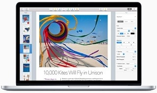 Pages, Numbers, Keynote, iPhoto, iMovie y Garageband se actualizan para OS X Yosemite