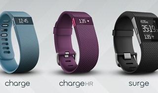 Charge, Charge HR y Surge, los 3 nuevos dispositivos de Fitbit