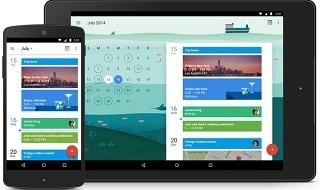 Nueva aplicación de Google Calendar para Android, próximamente también en iOS