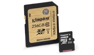 Kingston duplica la capacidad de sus tarjetas de memoria SDHC, SDXC y sus variantes micro