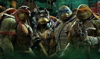 Las Tortugas Ninja, la película más descargada de la semana