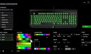 Razer Synapse se actualiza con más opciones de personalización para el BlackWidow Chroma
