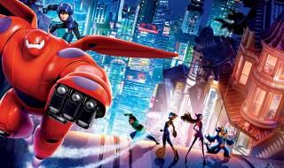 Big Hero 6, la película más descargada de la semana