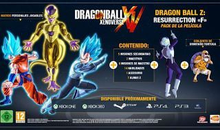 Resurrection F, tercer DLC de Dragon ball Xenoverse