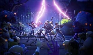 Otro gameplay de Fortnite