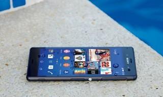La resistencia al agua del Sony Xperia Z3