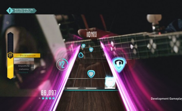 Guitar Hero Live_GHTV gameplay using Invencibilidad
