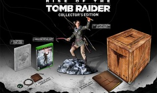 La edición de coleccionista de Rise of the Tomb Raider en Xbox One