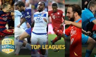 Los mejores jugadores de cada liga en FIFA 16