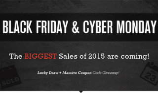 El Black Friday y el Cyber Monday se acercan a Gearbest!