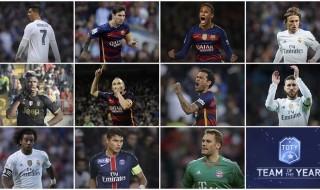 Centrocampistas y delanteros del año en el once ideal de FIFA Ultimate Team