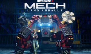 Detalles de Mech Land Assault, el próximo DLC de Just Cause 3 que llega este viernes