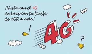 El 4G llega por fin a Lowi