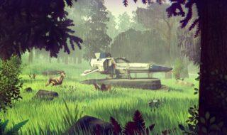La exploración en No Man's Sky