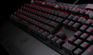 El ROG Horus GK2000, el nuevo teclado mecánico de Asus, llegará a España el mes que viene