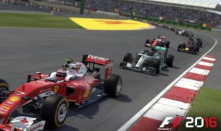 Media hora de gameplay de F1 2016