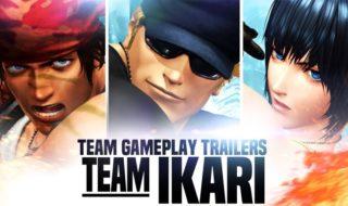 El equipo Ikari en The King of Fighters XIV