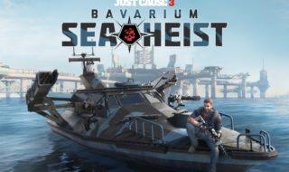 Ya disponible Bavarium Sea Heist, el nuevo DLC de Just Cause 3