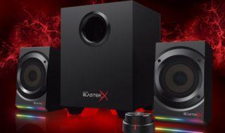 Sound BlasterX Kratos S5 y S3, los nuevos equipos de sonido para gamers de Creative