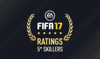 Los jugadores con 5 estrellas de habilidad en FIFA 17