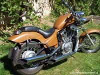 Holzmotorrad, Motorrad Holz